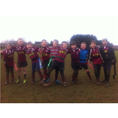 Hitchin U8s v Cambridge 25th Jan 2015: Winning Ways Continue for Unstoppable Under 8s!!!