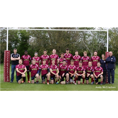 Under 18s 13 v 27 Bishops Stortford RFC Lv Cup Final - Home Cup Draw on 26 Apr 2015