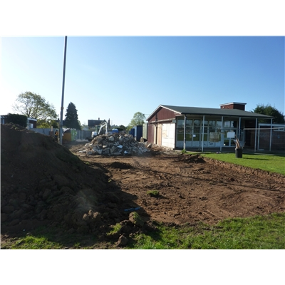 Work starts on clubhouse rebuilding programme