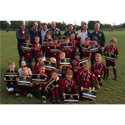 Hitchin U9s Winners at NH Letchworth Festival!