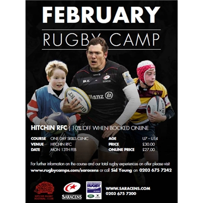 Saracens Rugby Camp