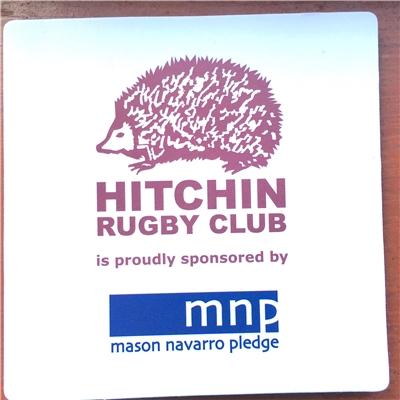 MNP logo on beer mats