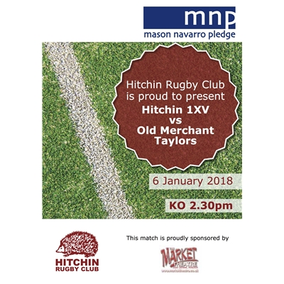 1XV vs Old Merchant Taylors: Sat 6 January