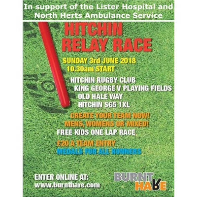 Fun Run Relay fund raiser for the Lister Hospital and NH Ambulance Service