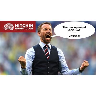 England vs Croatia on the big screen