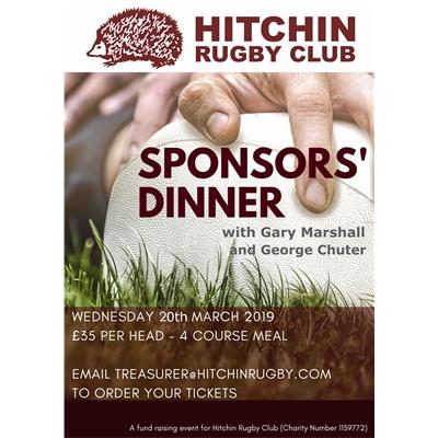 Sponsors Dinner: 20 March 2019