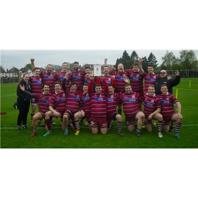 1st XV 26 v 21 Old Actonians RFC - Away League on 6 Apr 2019
