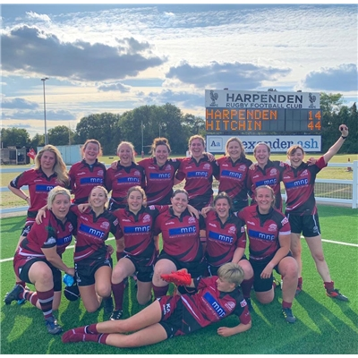 Hitchin Ladies 2XV: history made today