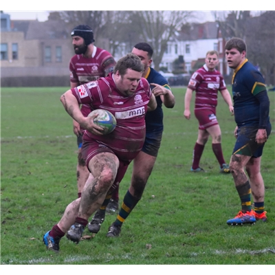 Men 1XV 34 v 15 Kilburn Cosmos Rugby Club - Away League on 25 Jan 2020