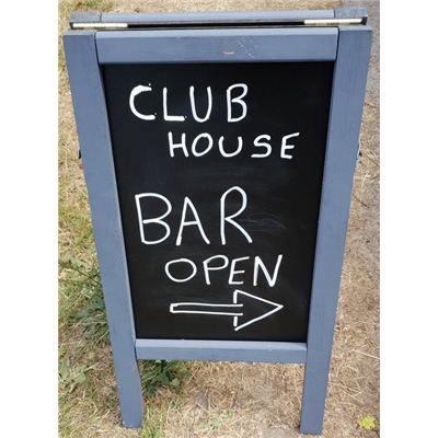 Clubhouse reopening: Saturday 5 Sept