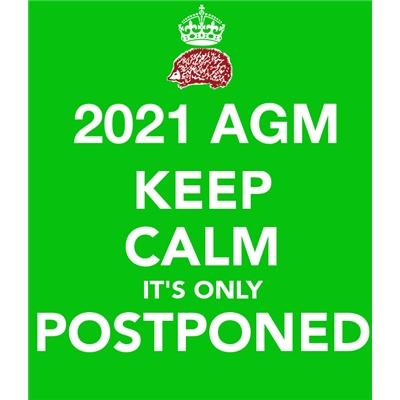 AGM 2021: postponed